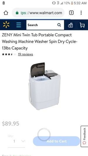 Washer for rv for Sale in Glendale, AZ