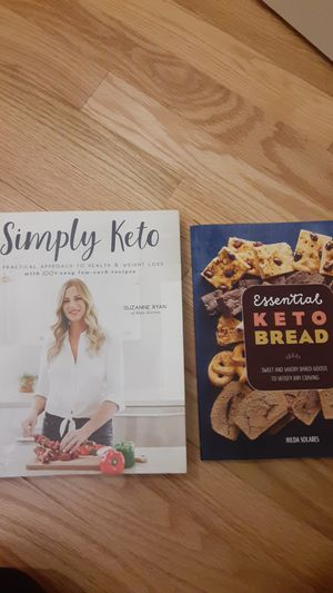 Keto books and recipes for Sale in Wendell, NC