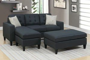 SECTIONAL WITH OTTOMAN AND PILLOWS IN SPECIAL OFFER IN 45701 HIGHWAY27 N DAVENPORT FL 33897 for Sale in Davenport, FL
