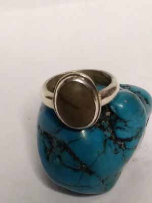 Size 5 Sterling silver stone ring for Sale in Willow Street, PA