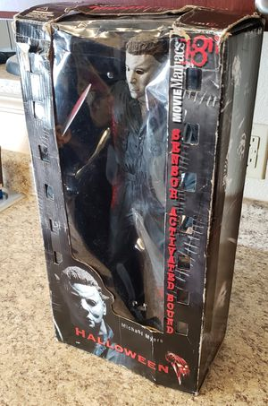 """2001 Mcfarlane Toys Movie Maniacs 18"""" Michael Myers Figure in Box Halloween for Sale in Aurora, CO"""