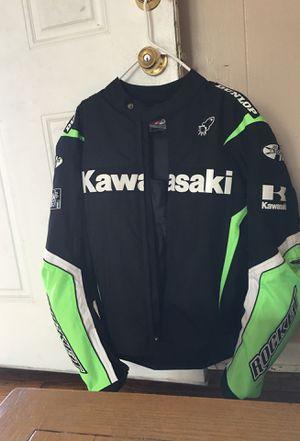 Kawasaki motorcycle jacket for Sale in Breaux Bridge, LA