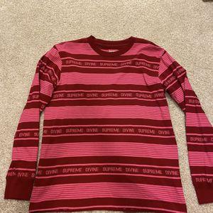 Supreme Stripped Shirt for Sale in Willingboro, NJ