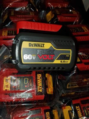 Dewalt 20v Flexvolt 6.0 Battery for Sale in Las Vegas, NV