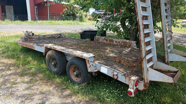 Eager Beaver equipment trailer