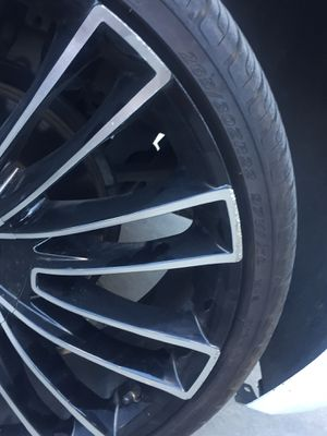 22 inch 5Lug Luxx Rims for sale for Sale in Wichita, KS