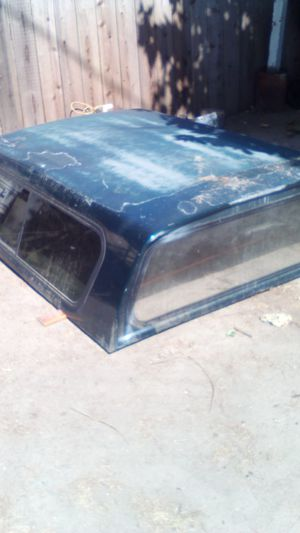 Camper shell 63 and 1/2 by 80 and 1/2 for Sale in Modesto, CA