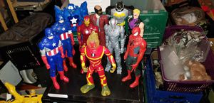 "Lot of (10) 12"" Action Figures Iron Man Capt America Spiderman etc... for Sale in Scottsdale, AZ"