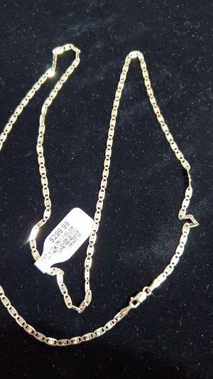 """10kt... 24"""" Tri color necklace for Sale in Phoenix, AZ"""