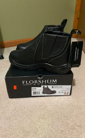 Men's size 11.5 steel toe boots for Sale in Spring Lake, NC