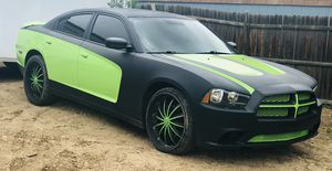 2013 Dodge Charger 120 thousand miles custom paint job 22 inch rims for Sale in Longmont, CO