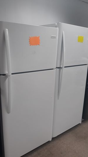 White top and bottom refrigerator brand new scratch and dent for Sale in Laurel, MD
