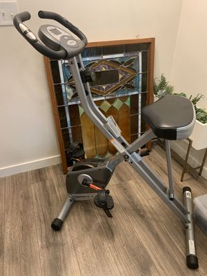 Foldable Exercise Bike with Heart Pulse Sensor for Sale in Mukilteo, WA