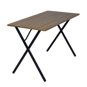 NEW FurnitureR Broca Computer Table - Wood and Black Metal for Sale in Nashville, TN