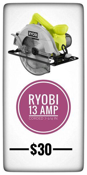 RYOBI 13 Amp Corded 7-1/4 in. Circular Saw-CSB125 for Sale in La Mesa, CA