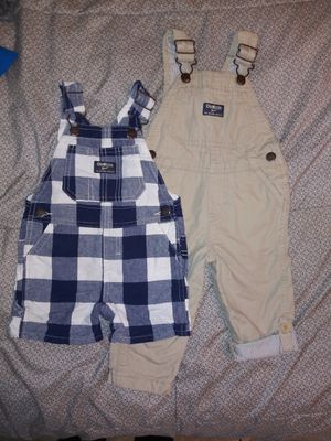 $15 for both Baby OshKosh overalls 9-12 months for Sale in Rosemead, CA