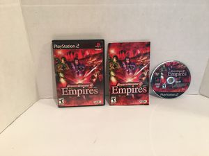 Playstation 2 ps2 Dynasty Warriors Empire Game for Sale in San Bernardino, CA