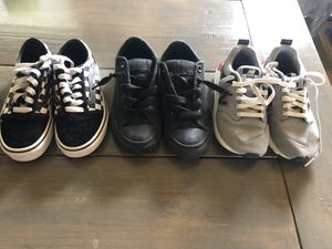 5 pairs youth shoes and boots size 12-13 for Sale in Waxahachie, TX