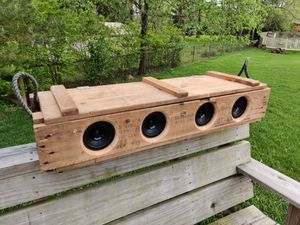 Artillery Crate Bluetooth Speaker System - Handmade! for Sale in Dublin, OH
