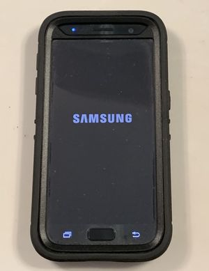 Samsung Galaxy 7 black 32gb w/ Otterbox Case for Sale in Sugar Hill, GA