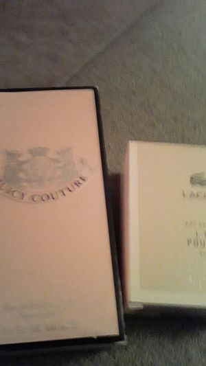 Brand new juicy couture perfume and Lacoste womens perfume ..!! for Sale in Minneapolis, MN