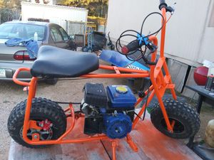 ORANGE mini Bike ~ FAT SEAT ~ Fat tires ~ RUns & drives ~ great lil bike for Sale in Tucson, AZ