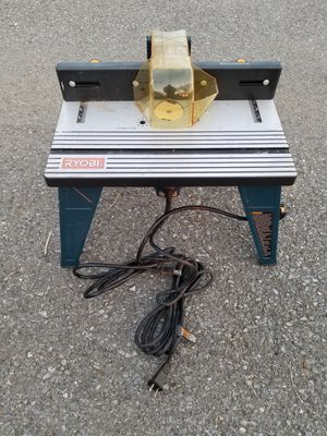 Ryobi router table with router. for Sale in Reading, PA
