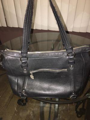 Boho Coach black leather bag for Sale in Covina, CA