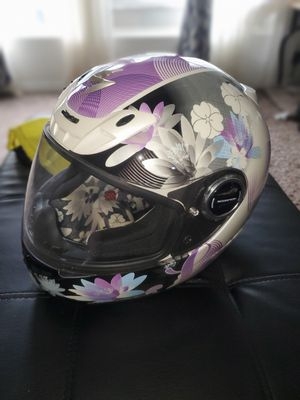 xs extra small exo-400 purple white lily helmet for Sale in Graham, WA