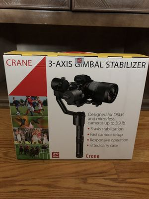 Crane Gimbal 3-axis for Sale in Northfield, OH