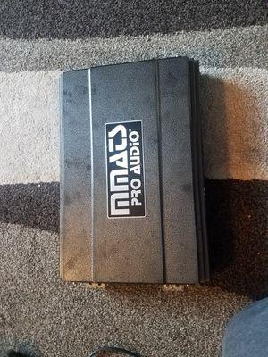 Amplifier mmats pro audio HD4000.1D 4000watts Rms for Sale in Everett, WA