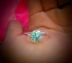 925 HoLLoW FLoweR RiNg for Sale in Bountiful, UT