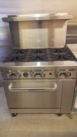 6 Burner Range with Oven for Sale in Miami, FL