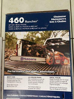 Husqvarna 460 rancher chainsaw for Sale in Orlando, FL