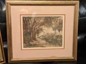 Mary Bertrand Large Fine Art Floral Print Signed Numbered And Framed for Sale in Baton Rouge, LA