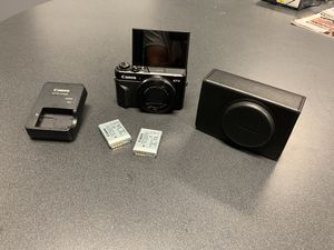 Canon G7X mark 2 for Sale in Milford, CT