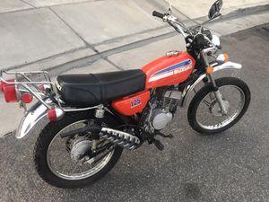 1974 Suzuki TC125 Street Legal Vintage Dirtbike for Sale in Corona, CA