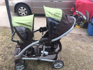 Double Grayco stroller great condition only 75 firm for Sale in Severn, MD