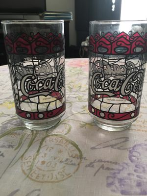 Coca Cola Glass Cups—Collectibles for Sale in San Diego, CA