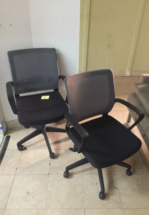 Black Rolling Office Chairs for Sale in Monterey Park, CA
