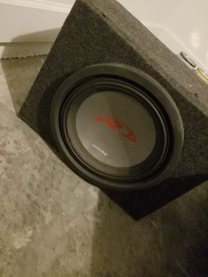 12 in Alpine Type R Sub for Sale in Tampa, FL