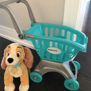 CART AND PLUSHY TOY for Sale in Lincolnwood, IL