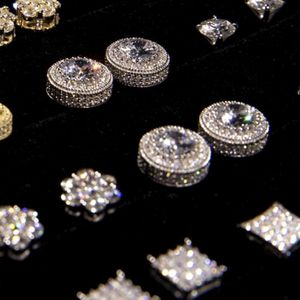 Real Gold And Diamond Earrings for Sale in Torrance, CA