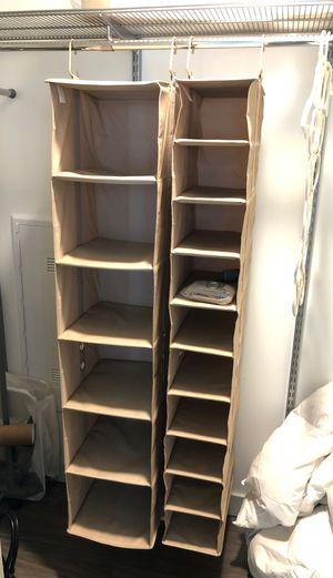 Closet organizer x2 for Sale in Cambridge, MA