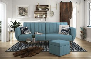 NEW BLUE SOFA BED FUTON!! for Sale in Diamond Bar, CA