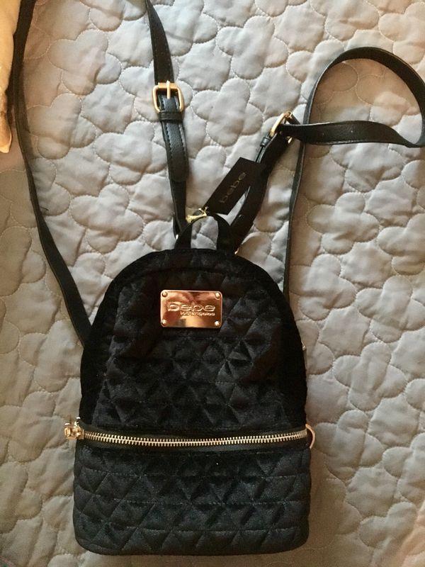 Bebe Mini Backpack Purse