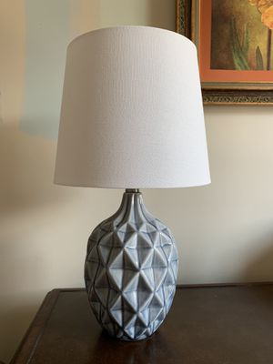 Blue Ceramic Lamp for Sale in Chantilly, VA