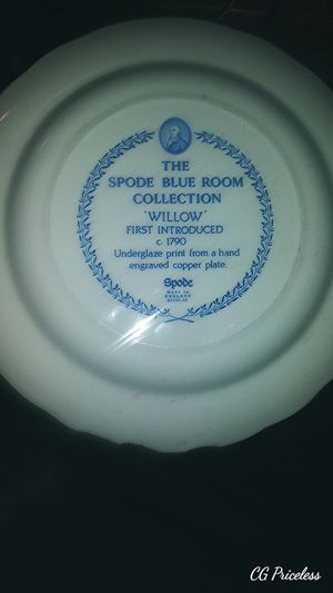 """Spode blue room collection """"willow"""" for Sale in Dayton, OH"""