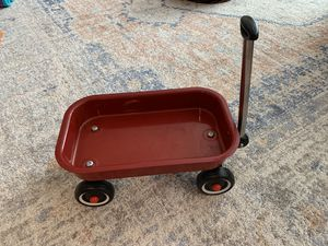 Small kids metal wagon for dolls for Sale in Milwaukie, OR