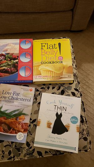 Assorted Cookbooks- 4 for $10 for Sale in Canton, OH